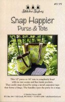 Snap Happier Purse & Tote by Stitchin' Sisters