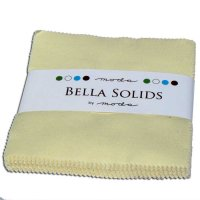 Bella Solids Charm Pack by Moda, Snow, SKU 9900PP 11