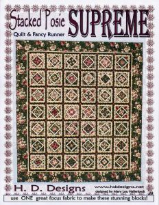 Stacked Posie Supreme by Mary Lou Hallenbeck