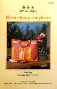 Bloom Where You're Planted Tote Bag