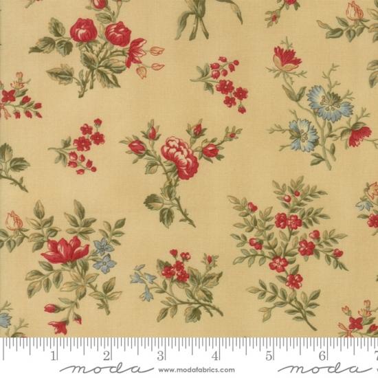 Bellas Rose Cottage Via Jennifer Beaton: Winterlude 11 FQ Set Holly By 3 Sisters For Moda Fabrics